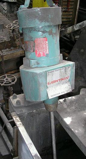 "Lightnin Mixer 1/4 HP. 220/440 Volts 1725 RPM 6"" Prop 31"""