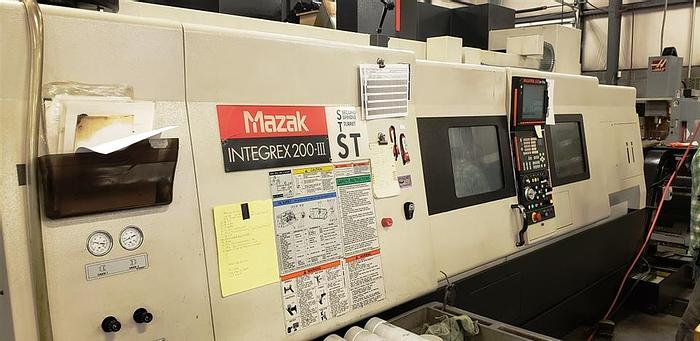 Used 2005 Mazak Integrex 200-IIIST