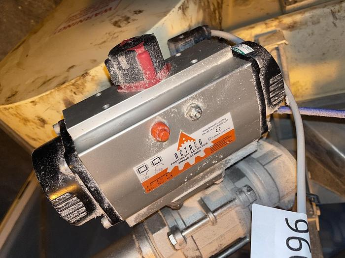 Used ACTREG ACT 80 R Pneumatic Actuator