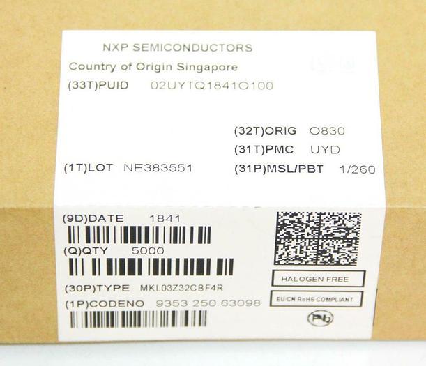 NXP MKL03Z32CBF4R Kinetis KL03 Embedded Microcontrolle