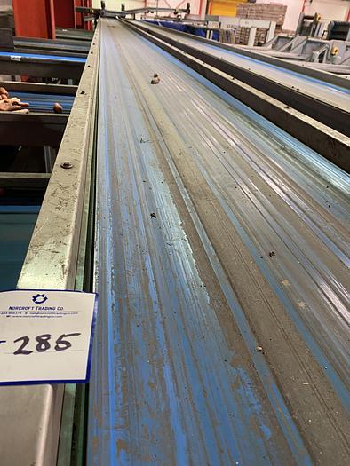 Used Steel Conveyor 20m L 0.85m W