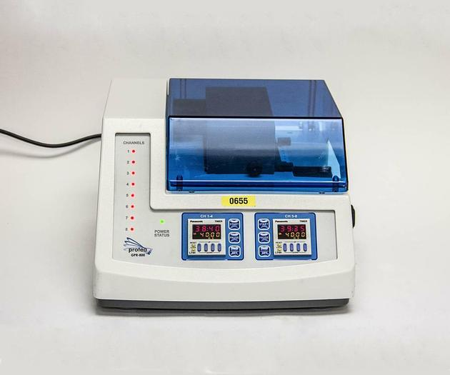 Used Protea GPR-800 Advanced Gel Protein Recovery 8 Channel USED (655)