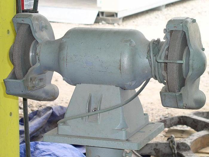 Geographic Heavy Duty Double End Pedestal Grinder