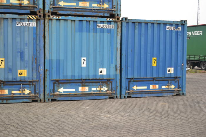 30 'Container 9' Steel Floor Palletwide