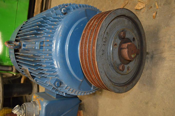 Used 75HP electric motor frame 365T