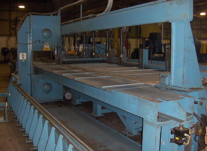 "8"" x 144"" TANNEWITZ Model 3000-MH8 Vertical Band Type Plate Saw; Mfg. 1994"
