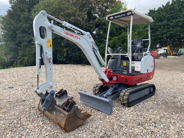 Used Takeuchi TB216 Compact Excavator