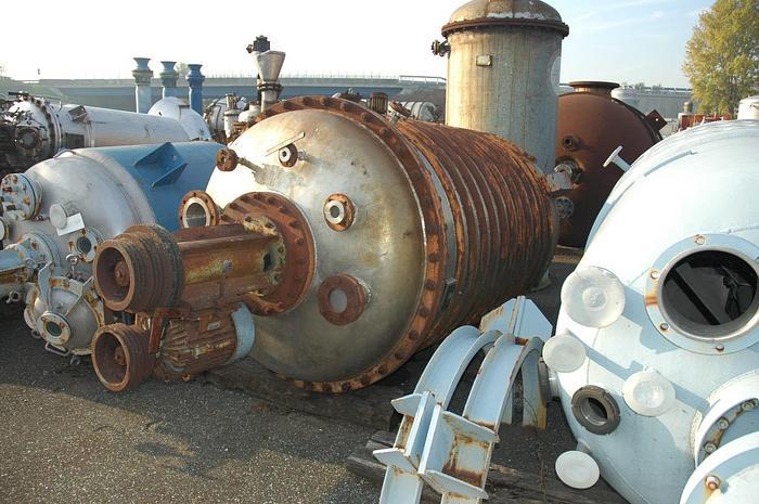 Usata Reattore  da 3500 Litri