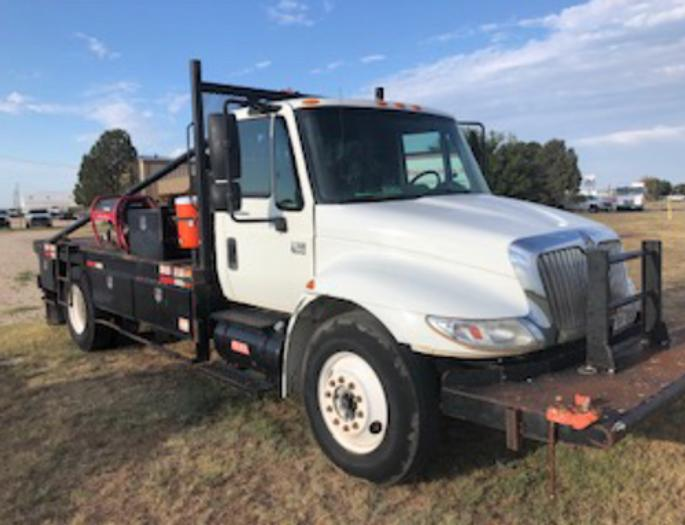 2005 International 4x2 Gang Truck