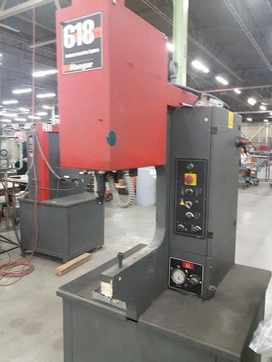 Used 2001 6 Ton Haeger 618 Hardware Insertion Press