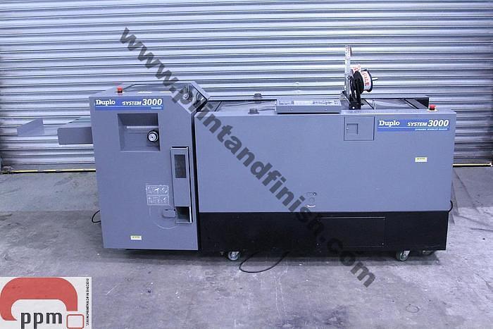 Used Duplo 3000 Booklet Maker & Trimmer
