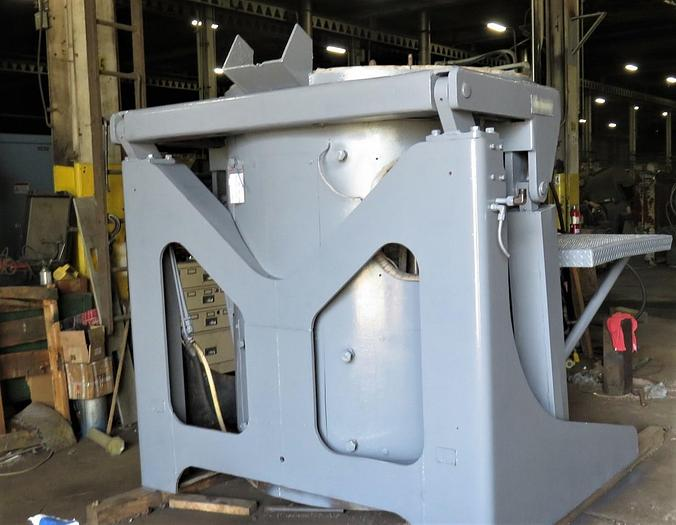 INDUCTOTHERM 4000LB STEEL SHELL FURNACE