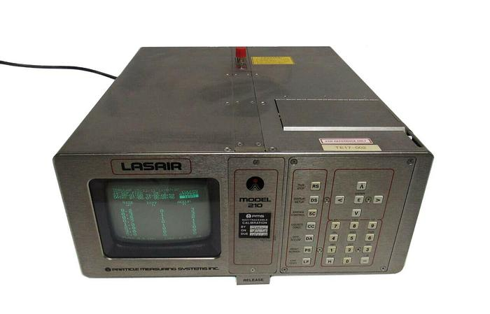 Used Particle Measuring Systems Lasair 210 Laser Particle Measuring Counter (3945)