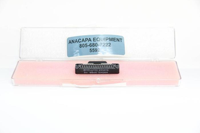 Glenair D-Sub Micro-D Connectors OCA77 0501 MWDM2L-31PBRT-.110 08-33283 NEW 5592