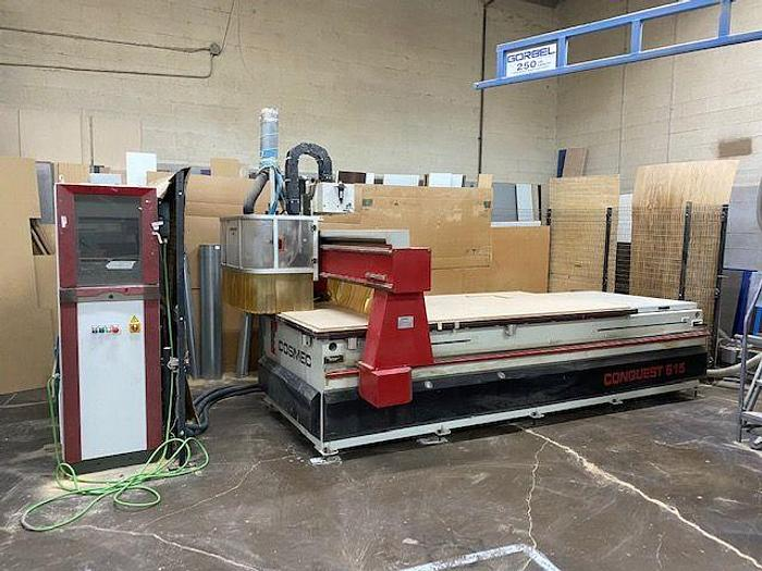 Used Holz-Her . COSMEC CONQUEST 515 CNC ROUTER 4′ X 10′
