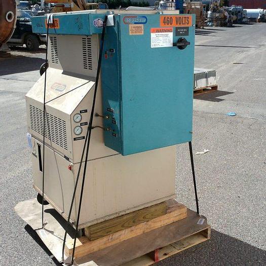 Used Mokon 18kw 2-zone hot oil heater model HA4B09-HP, 460 volt ACM input