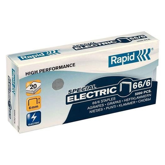 Trade-Box Rapid 66/6 Staples For Rapid 105/106 - Box Of 12 Packs (60,000) - 24867800