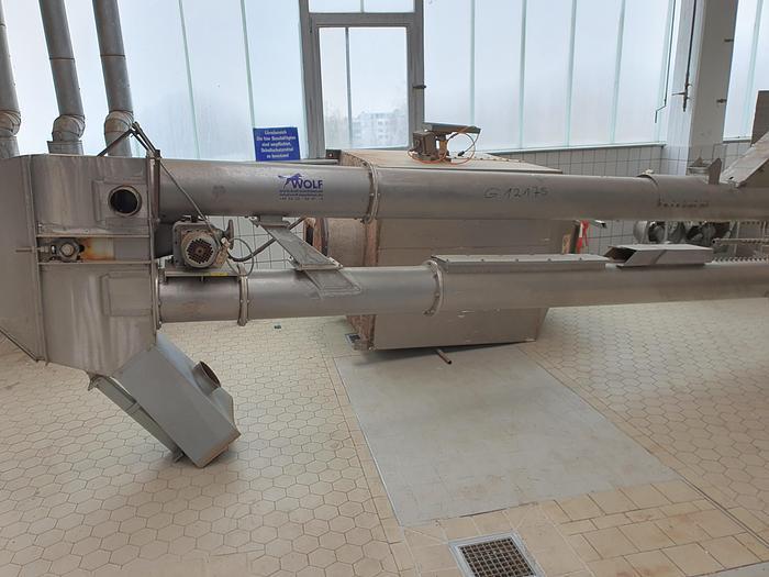 Gebraucht gebr. Mandelschälanlage Fabrikat BAUERMEISTER Type BF-250/SCH-450, Baujahr 1992 bestehend aus: