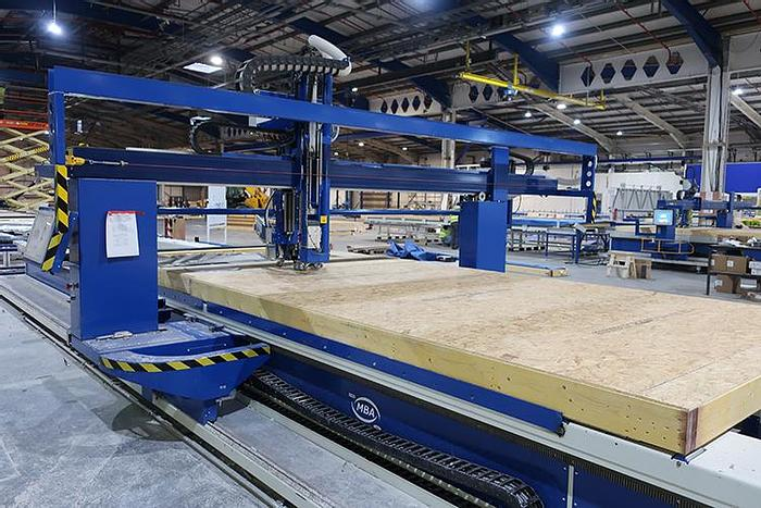 MBA Mobi One Combined Timber Frame Assembly Station For Walls