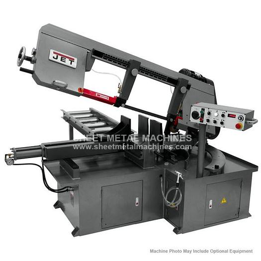 JET MBS-1323EVS-H Semi-Automatic Dual Mitering Bandsaw 3HP 230V 413412