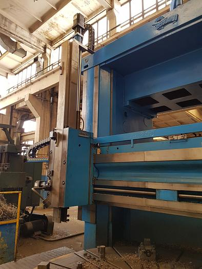 Vertical turning lathe SC27 CNC completely retrofitted in 2015