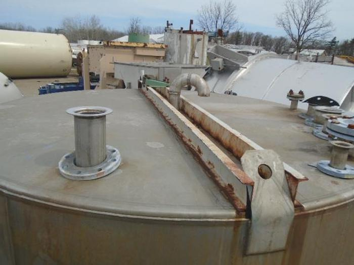 USED 3800 GALLON TANK, 316 STAINLESS STEEL