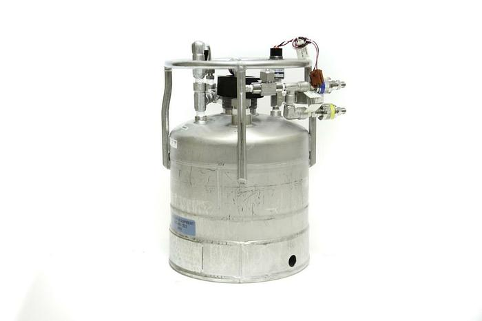 """Used Alloy Products 9"""" X 9"""" Stainless Steel 135 PSI Pressure Vessel T 316 (4008)"""