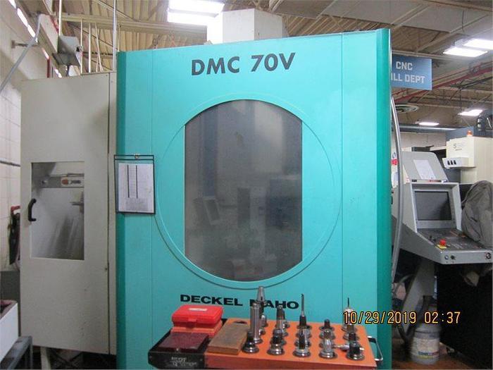 2000 Deckel Maho  DMC 70V