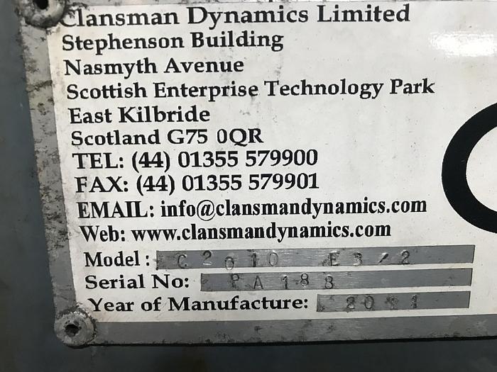 CLANSMAN DYNAMICS ( HOLD)