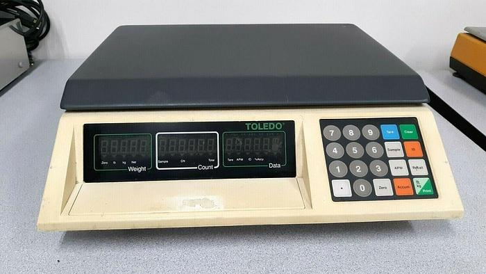 Used Toledo Precision Counting Scale # 3581 25 Lbs Capacity 110V