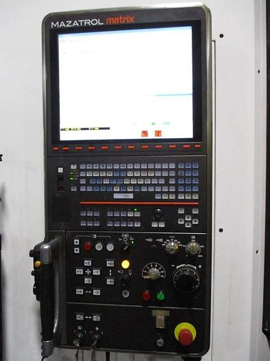 "73.82""X, 61""Y, 52.95""Z, MAZAK, INTEGREX E-1550V10II, 2011, CNC 5-AXIS MILL/TURN CENTER"