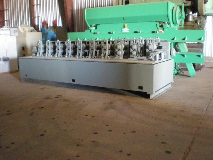 """Used 10 Stand Tishken Roll Former; 12"""" roll space"""