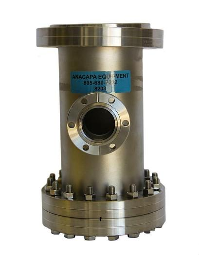 """Used Nor-Cal Products 3TR-400-300 CF Tee Reducer W/ Flange Reducer 6"""" OD (8203)W"""
