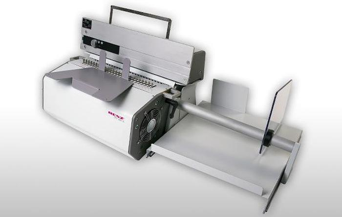 Renz DTP340A (Semi-Automatic Electronic Desk-Top Punch)
