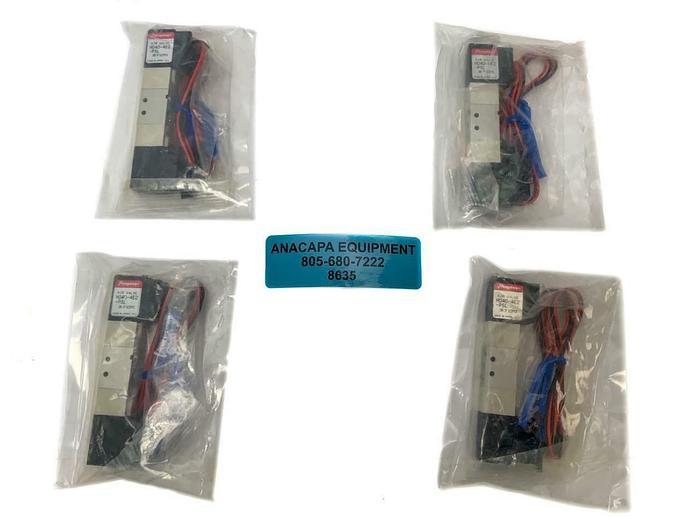 Humphrey H040-4E2-PSL Solenoid Air Valve, New Lot of 4 (8635) W
