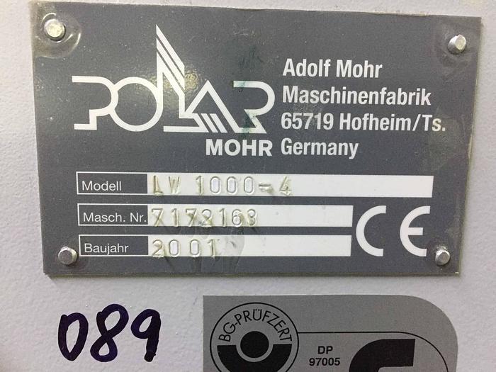 2001 Polar LW 1000-4