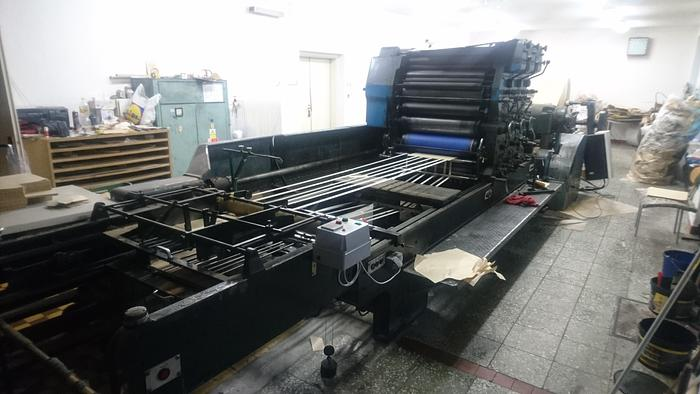 Kama Polygraph Automatic Die cutter + printing machine