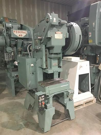 32 Ton, MINSTER, No. B1-32, ADJUSTABLE STROKE HIGH SPEED PRESS