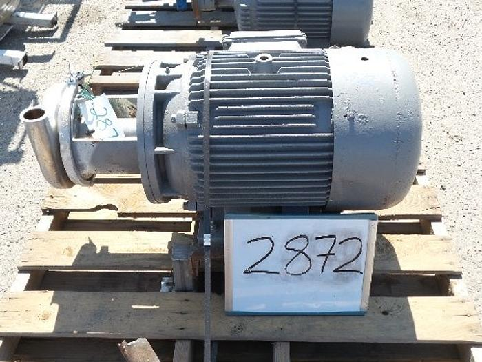 Used C328MD Tri-Clover 3'' x 2'' Centrifugal Pump #2872