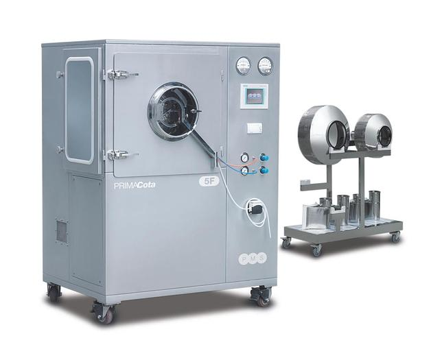 R&D PRIMACota Automatic Tablet Coating System 5F/10F