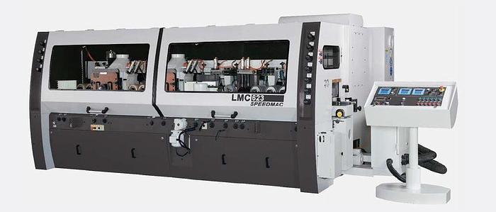 """Leadermac LMC623 9"""" 6-Head Heavy-Duty Jointed Moulder"""