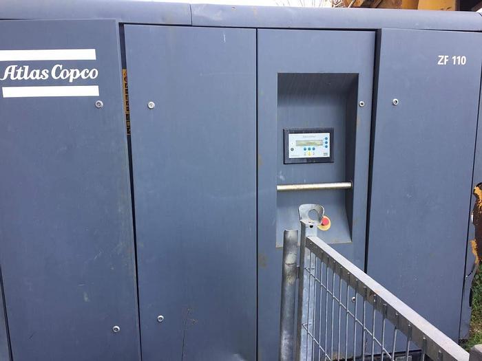 Usata Compressore elettrico, ATLAS COPCO modello ZF 110 Waterseperator