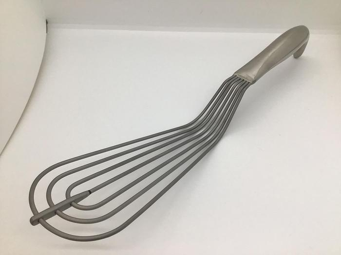 Used Retractor Lung Allison Adult Blade at Widest 70mm with Hollow Grip Handle 310mm (12in)
