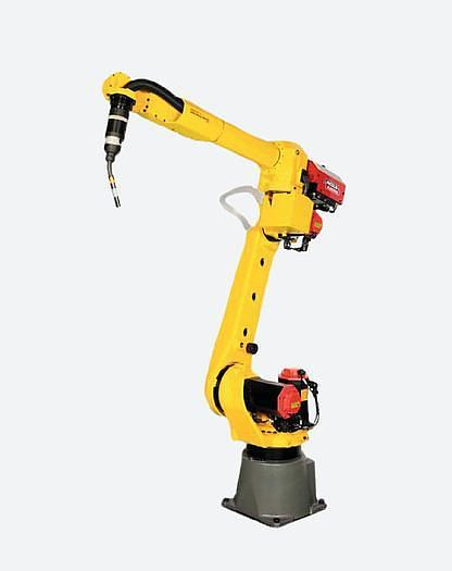 Used 2011 FANUC ARCMATE 120iC/10L 6 AXIS CNC MIG WELDING ROBOT WITH R30iA CONTROLLER (SEVERAL AVAILABLE)