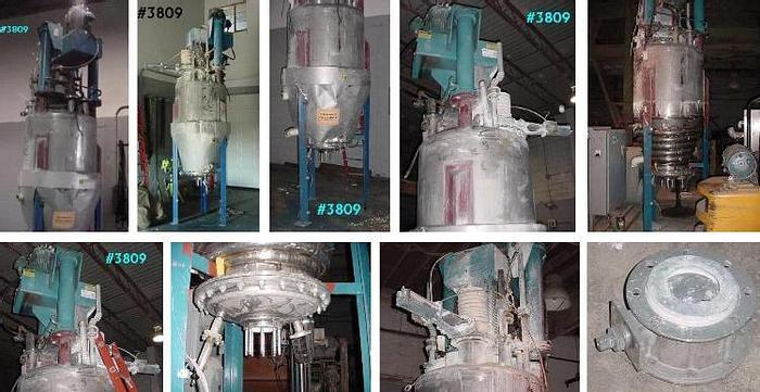 Used 30 HP COWLES HIGH SPEED DISPERSER – STAINLESS TANK