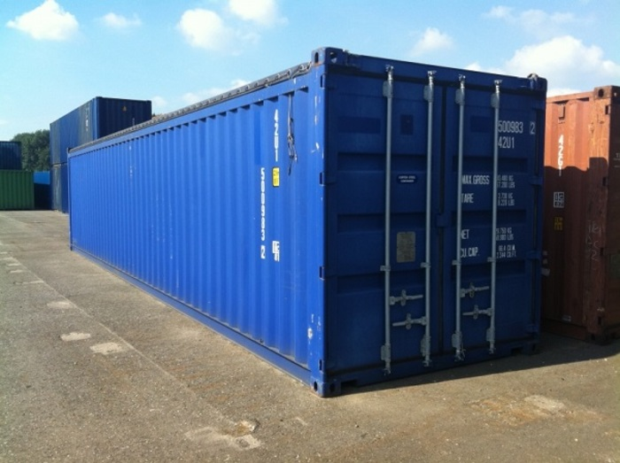 "40 'Container 8'6 ""Soft Top"