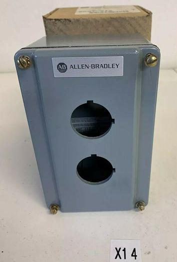 New Allen Bradley 800T-2TZ Die Cast EnclosureType: