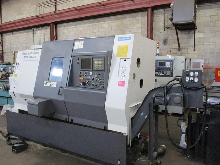 Used NAKAMURA-TOME, SC300, CNC LATHE, 2008