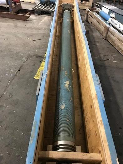 """Used BOWED ROLL 7"""" (179MM) DIA. X 123"""" (3.12M) FACE"""
