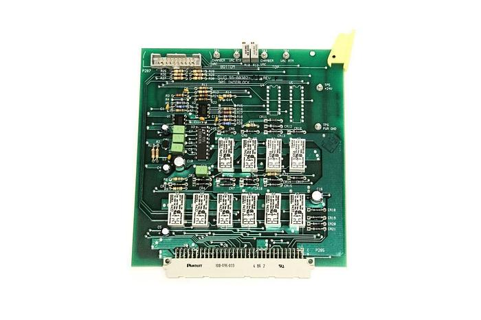 Used SVG Silicon Valley Group 99-80302-01 Industrial Board Rev. F (5246)